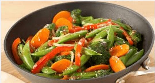 stir fry veg