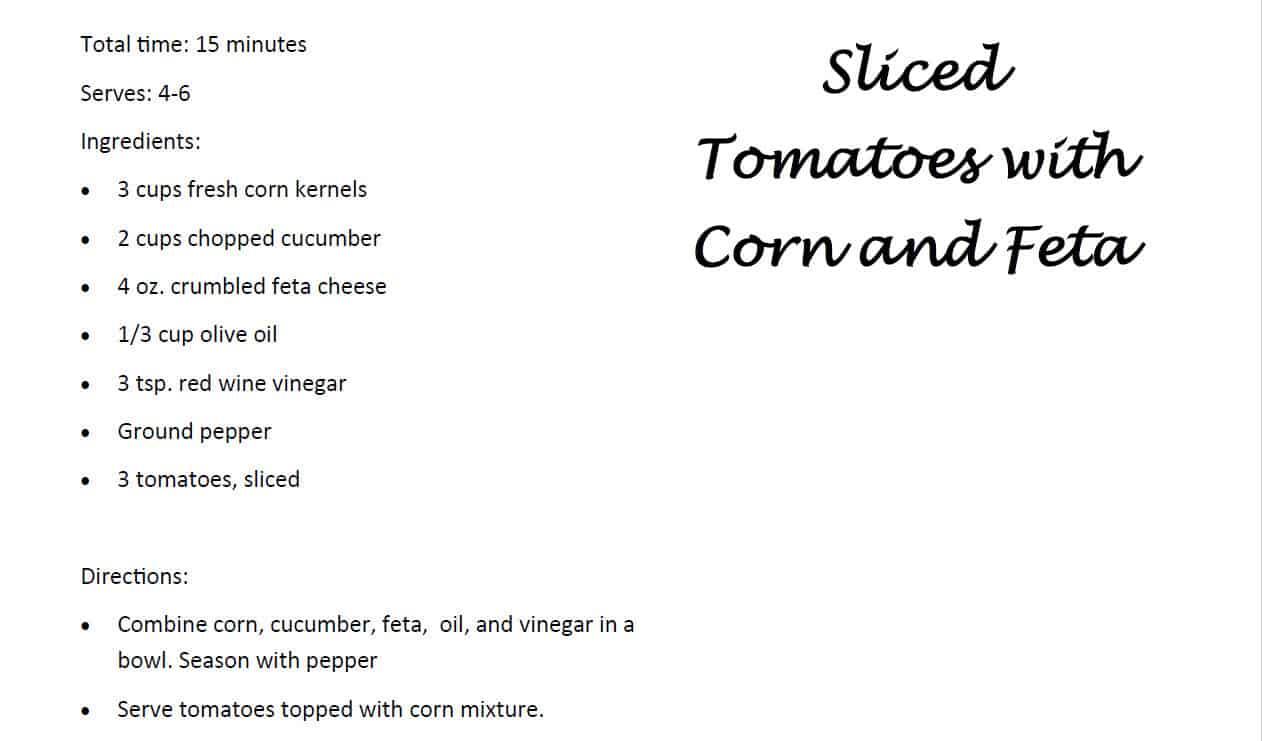 Tomatoes & Corn Salad_1