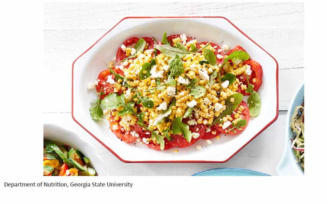 Tomatoes and Corn Salad